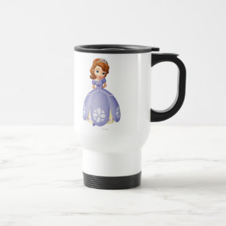 Sofía el primer 1 taza de viaje de acero inoxidable
