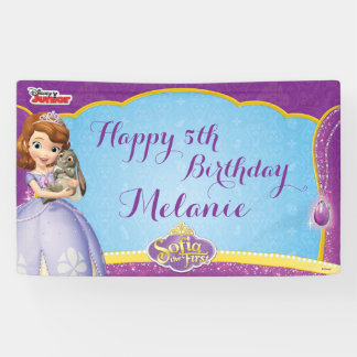 Sofía el primer cumpleaños lona