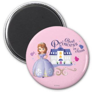 Sofía: La mejor princesa en clase Imán Redondo 5 Cm
