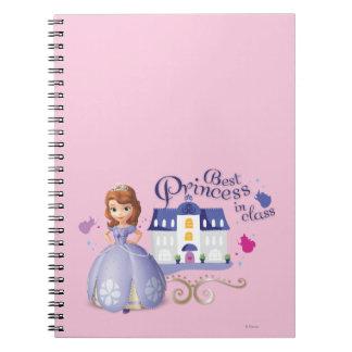 Sofía: La mejor princesa en clase Spiral Notebooks