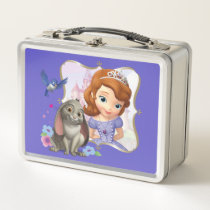 Sofia, Mia and Clover Metal Lunch Box