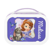 Sofia, Mia and Clover - Personalized Lunch Box