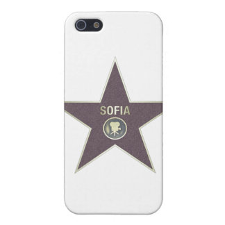 SOFIA-MOVIE-STAR COVER FOR iPhone SE/5/5s