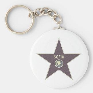 SOFIA-MOVIE-STAR LLAVERO REDONDO TIPO PIN
