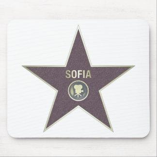 SOFIA-MOVIE-STAR MOUSEPADS