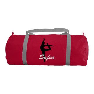 Sofia personalized duffle gym dance bag gym duffel bag