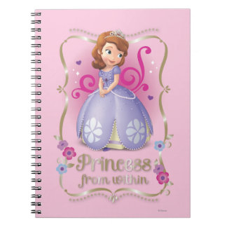 Sofia: Princess from Within Spiral Note Book