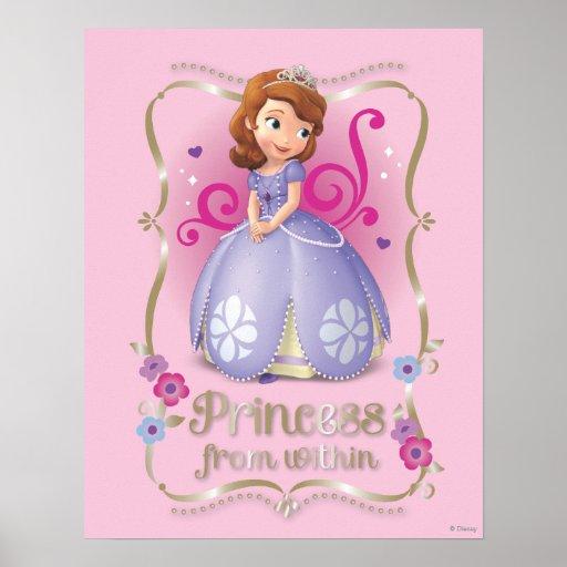 Sofia Princess From Within Print Zazzle Sofia The Princess Printable