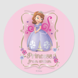 Sofia: Princess from Within Round Stickers