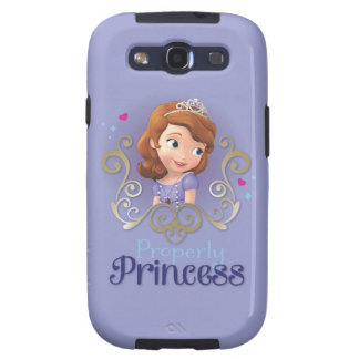 Sofia: Properly Princess Samsung Galaxy SIII Cover