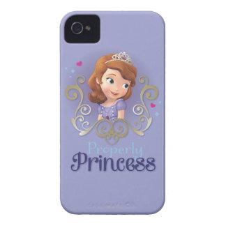 Sofia: Properly Princess iPhone 4 Case-Mate Case