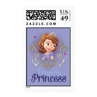 Sofia: Properly Princess Stamp