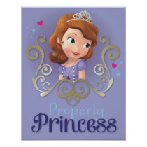 Sofia: Properly Princess Poster