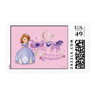 Sofia: Ready to be a Princess Postage Stamp