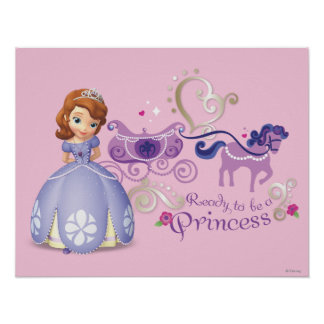 Sofia: Ready to be a Princess Print