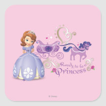 Sofia: Ready to be a Princess Square Sticker