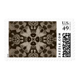 Sofia Skull Bling Pattern Stamp