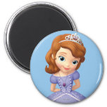Sofia the First 1 2 Inch Round Magnet