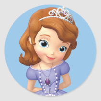 Sofia the First 1 Classic Round Sticker