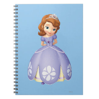 Sofia the First 1 Spiral Notebooks