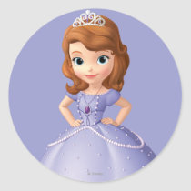 Sofia the First 2 Classic Round Sticker