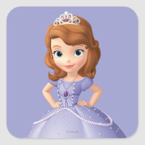 Sofia the First 2 Square Sticker