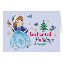 Sofia the First | Enchanted Holidays Card