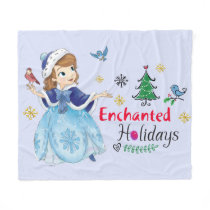 Sofia the First | Enchanted Holidays Fleece Blanket