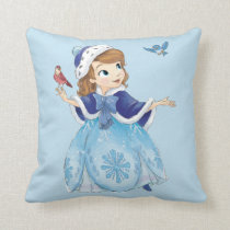 Sofia the First | Sofia The First With Friends Throw Pillow