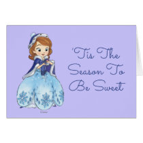 Sofia the First | Sofia's Snowflake Gown Card