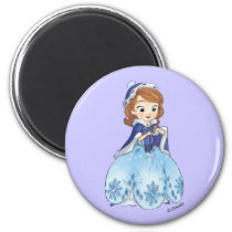 Sofia the First | Sofia's Snowflake Gown Magnet