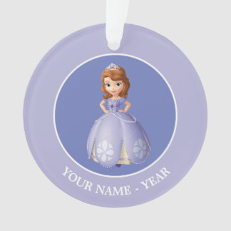 Sofia The First | Standing Add Your Name Ornament