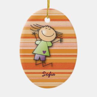 Sofia's room christmas ornaments