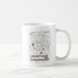 Sofisticado sarcásticamente taza de café