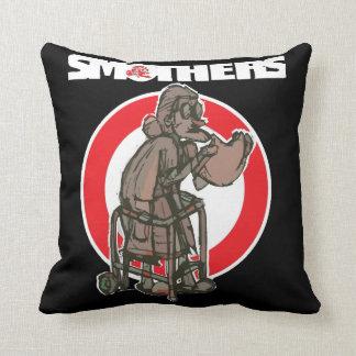 Sofoca las almohadas de la marca