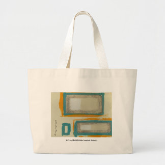 Soft And Bold Rothko Inspired Abstract Signed Jumbo Tote Bag