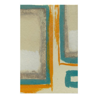 Soft And Bold Rothko Inspired Abstract Stationery