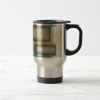 Soft And Bold Rothko Inspired Abstract Travel Mug