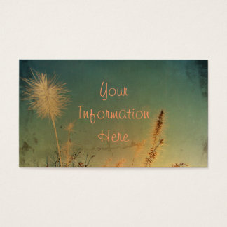 Soft and Pretty Nature Business Card