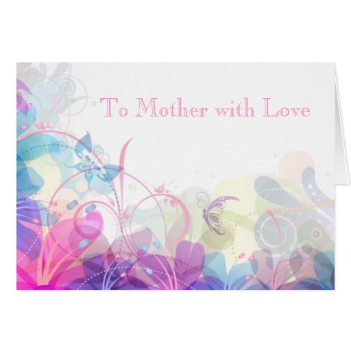 Soft and Pretty Pastel Design Card
