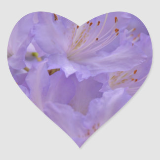 Soft and tender heart sticker