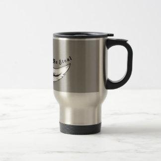 Soft ash steal travel mug