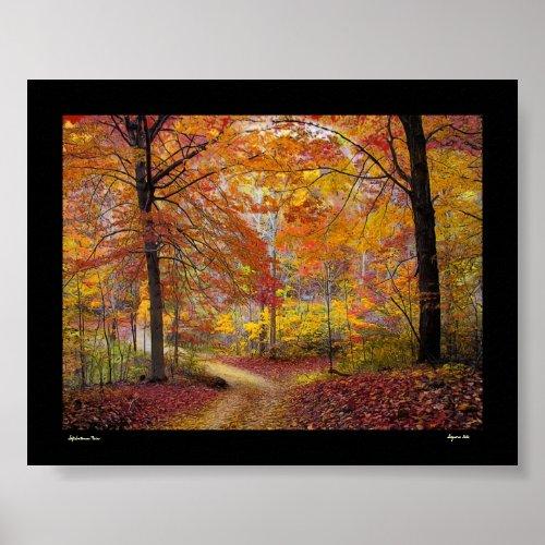 Soft Autumn Rain print