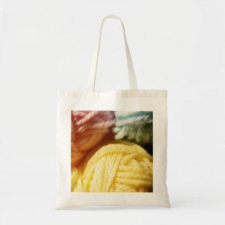 Soft Balls Of Yarn Budget Tote Bag
