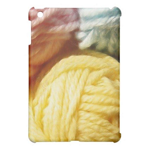 Soft Balls Of Yarn iPad Mini Case