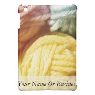 Soft Balls Of Yarn iPad Mini Covers