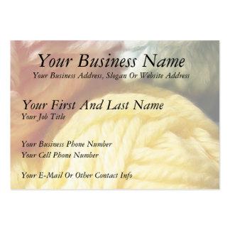 Soft Balls Of Yarn Large Business Card