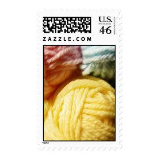 Soft Balls Of Yarn Stamps
