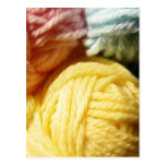 Soft Balls Of Yarn Postcard