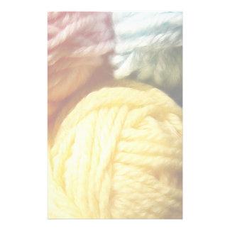 Soft Balls Of Yarn Stationery